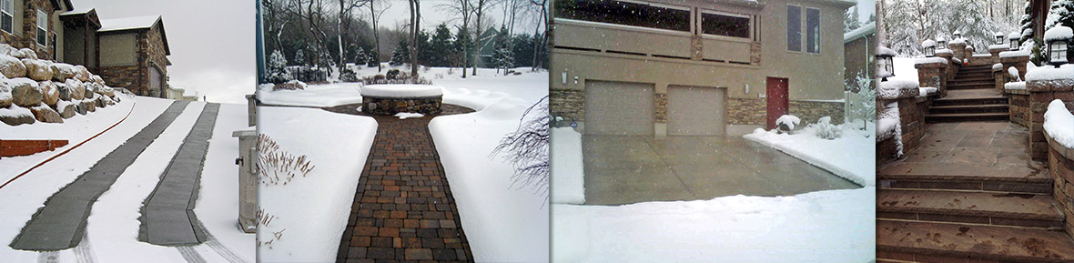 Warmzone snow melting and radiant heat systems.